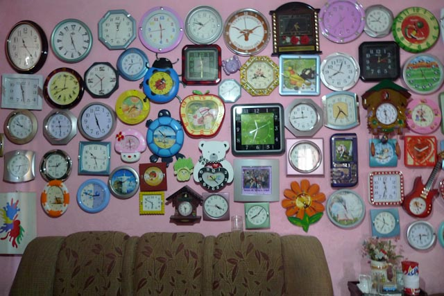 La pasión de Maria Helena por los relojes no tiene límites