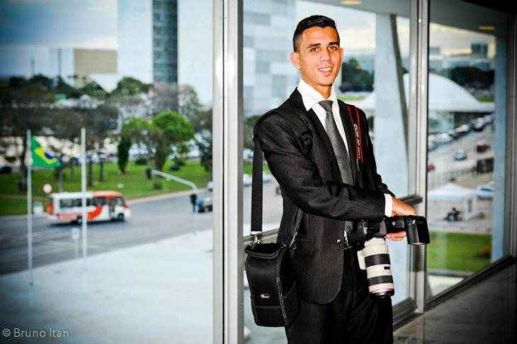 Bruno es uno de los fotógrafos de Sérgio Cabral