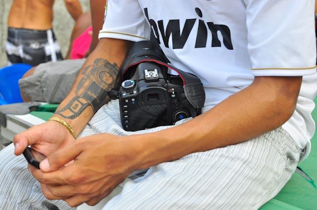 Bruno lleva la fotografía en las venas