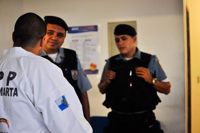 La imagen de la pacificación: policía y artes marciales