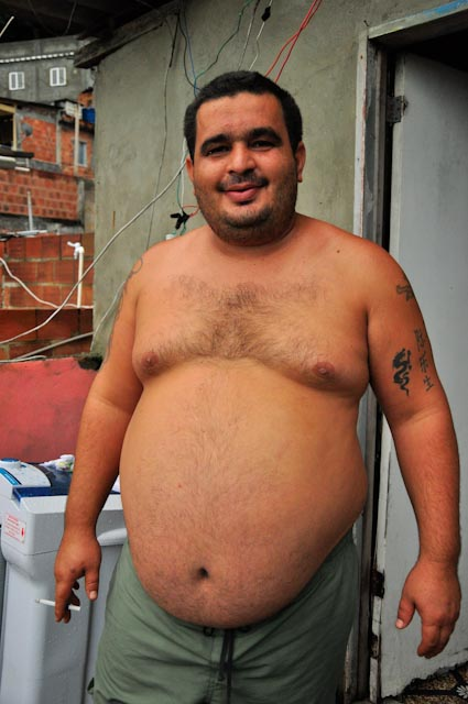 Daniel vende palomitas en Copacabana