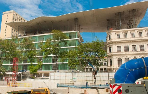 El recién inaugurado Museo de Arte de Rio