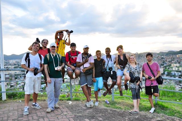 Los amigos del Fotoclube do Alemão