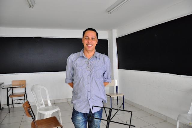 Julio César Camargo, el coordinador pedagógico del programa musical de la ONG Ação Social pela Música do Brasil