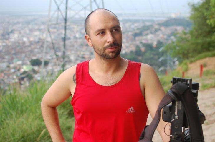 Dhani Borges, retratado por Ana Nasser