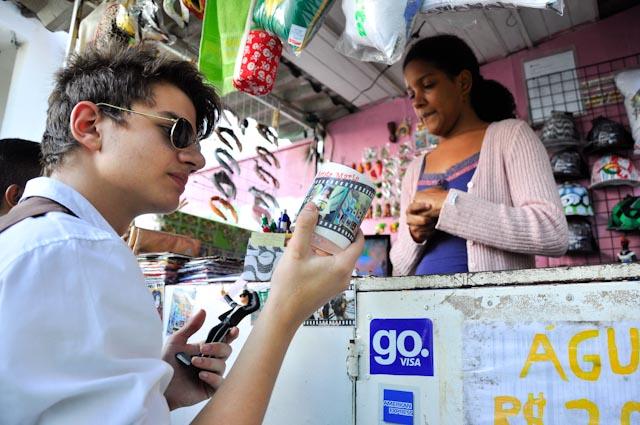 Turistas en la favela
