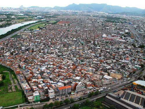 Vista aérea del Complexo da Maré